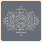 Tribal vintage ethnic background Royalty Free Stock Photos