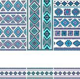 Tribal vintage ethnic banners Royalty Free Stock Image