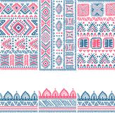Tribal vintage ethnic banners. Tribal vintage ethnic pattern banners illustration for your business Royalty Free Stock Photo