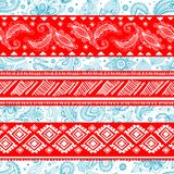 Tribal vintage ethnic pattern seamless Stock Photo