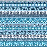 Tribal vintage ethnic pattern seamless Royalty Free Stock Photo