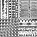 Tribal vintage ethnic pattern seamless. Illustration for your business Stock Photos