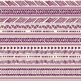 Tribal vintage ethnic pattern seamless Royalty Free Stock Images