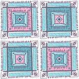Tribal vintage ethnic pattern seamless. Illustration for your business Stock Image