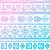 Tribal vintage ethnic pattern seamless Royalty Free Stock Image