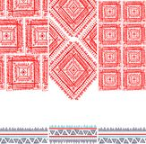 Tribal vintage ethnic pattern seamless. Illustration for your business Royalty Free Stock Images