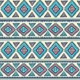 Tribal vintage ethnic pattern seamless Royalty Free Stock Image