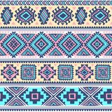 Tribal vintage ethnic pattern seamless. Illustration for your business Royalty Free Stock Photos