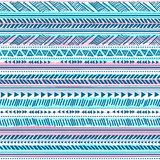 Tribal vintage ethnic pattern seamless Royalty Free Stock Photography