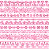 Tribal vintage ethnic pattern seamless Stock Photography