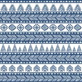 Tribal vintage ethnic pattern seamless Stock Images
