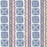 Tribal vintage ethnic pattern seamless Stock Image