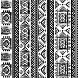 Tribal vintage ethnic seamless Royalty Free Stock Image