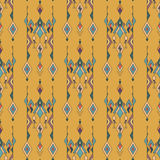 Tribal vintage ethnic seamless pattern. Aztec, mexican, navajo, african motif. Stock Photo