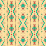 Tribal vintage ethnic seamless pattern. Aztec, mexican, navajo, african motif. Royalty Free Stock Photography