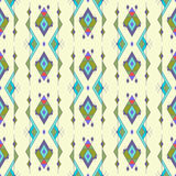 Tribal vintage ethnic seamless pattern. Aztec, mexican, navajo, african motif. Royalty Free Stock Photo
