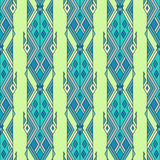 Tribal vintage ethnic seamless pattern. Aztec, mexican, navajo, african motif. Royalty Free Stock Image