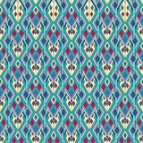 Tribal vintage ethnic seamless pattern. Aztec, mexican, navajo, african motif. Stock Photography