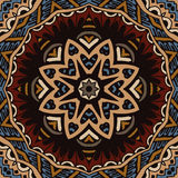 Tribal vintage ethnic seamless pattern ornamental design Stock Photography