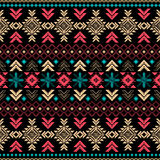 Tribal vintage ethnic seamless pattern Stock Photo