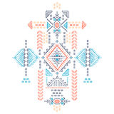 Tribal vintage ethnic seamless Royalty Free Stock Image