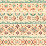 Tribal vintage ethnic seamless Stock Photo