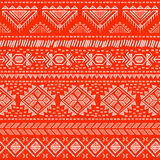 Tribal vintage ethnic seamless Stock Photography