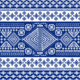 Tribal vintage ethnic seamless Stock Image