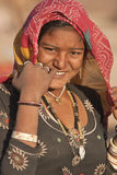 Tribal Woman Royalty Free Stock Photography