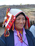 Tribal woman in the north of Thailand Stock Images