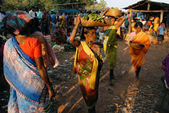 Tribal Women Royalty Free Stock Photography