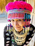 Tribal women in thailand Stock Photo