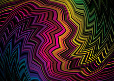 Tribal zig zag Royalty Free Stock Images