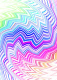 Tribal zig zag subtle Stock Photo