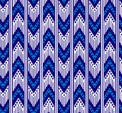 Tribal zigzag seamless pattern. Royalty Free Stock Photography