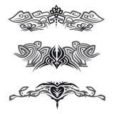 Tribals, Tattoos, set Royalty Free Stock Photos