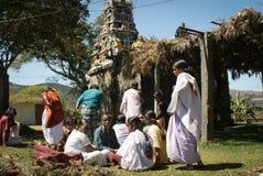 Tribaux de l'Inde Images libres de droits
