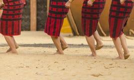 Tribbal妇女跳舞 免版税图库摄影