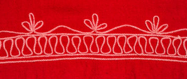 Tribe embroidery Stock Images