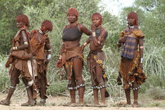 Free Tribe Of Hamar In The Omo Valley Of Ethiopia Royalty Free Stock Photography - 93702497
