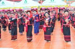 The tribe of Phu Tai. stock photo