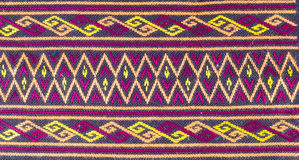 Tribe textile Royalty Free Stock Images