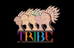 Tribe Royalty Free Stock Photography