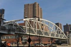 Tribeca-Brücke - New York City Lizenzfreie Stockfotos