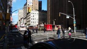 TriBeCa Crane Collapse 3 Stock Afbeelding