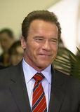 2015 Tribeca Film Festival. Action film star, former Republican Governor of California, and former multi-titled Mr. Olympia bodybuilding champion, Arnold royalty free stock photography