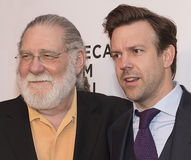 2015 Tribeca Film Festival. Actor and former 2-ter Screen Actors Guild president Richard Masur and comedian/actor and former Saturday Night Live cast-member Royalty Free Stock Photos