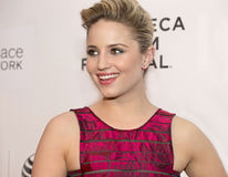 2015 Tribeca Film Festival. Arrives on the red carpet at the 14th Annual Multi-talented actress/director/singer/dancer Dianna Agron arrives on the red carpet for Stock Photo