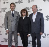 Tribeca Film Festival - `Bombshell: The Hedy Lamarr Story` Premi. NEW YORK, NY , USA - APRIL 23: L-R Adam Haggiag, Susan Sarandon and Doren Weber  attend the Royalty Free Stock Image