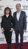 Tribeca Film Festival - `Bombshell: The Hedy Lamarr Story` Premi. NEW YORK, NY , USA - APRIL 23: Susan Sarandon and Doren Weber attend the 2017 Tribeca Film Stock Images